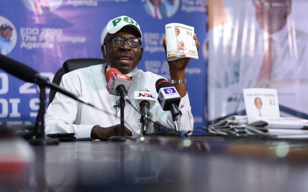 Ize-Iyamu flays playing politics with Edo people's health