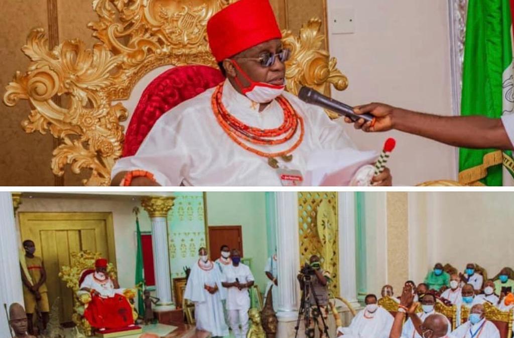 Rites, tradition, history: Ize-Iyamu and Omo 'N Oba's Royal Blessings  By John Mayaki