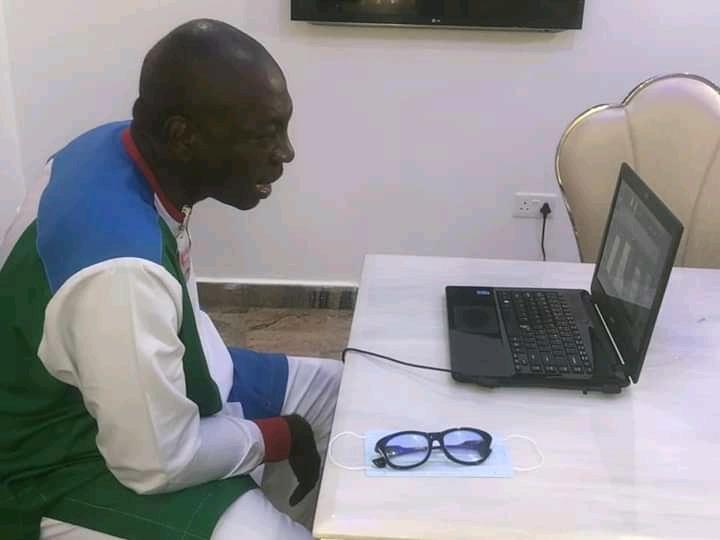 Edo 2020: Ize-Iyamu backs foreign visa ban on political actors aiding violence ……says Obaseki unstatesmanlike with rhetoric