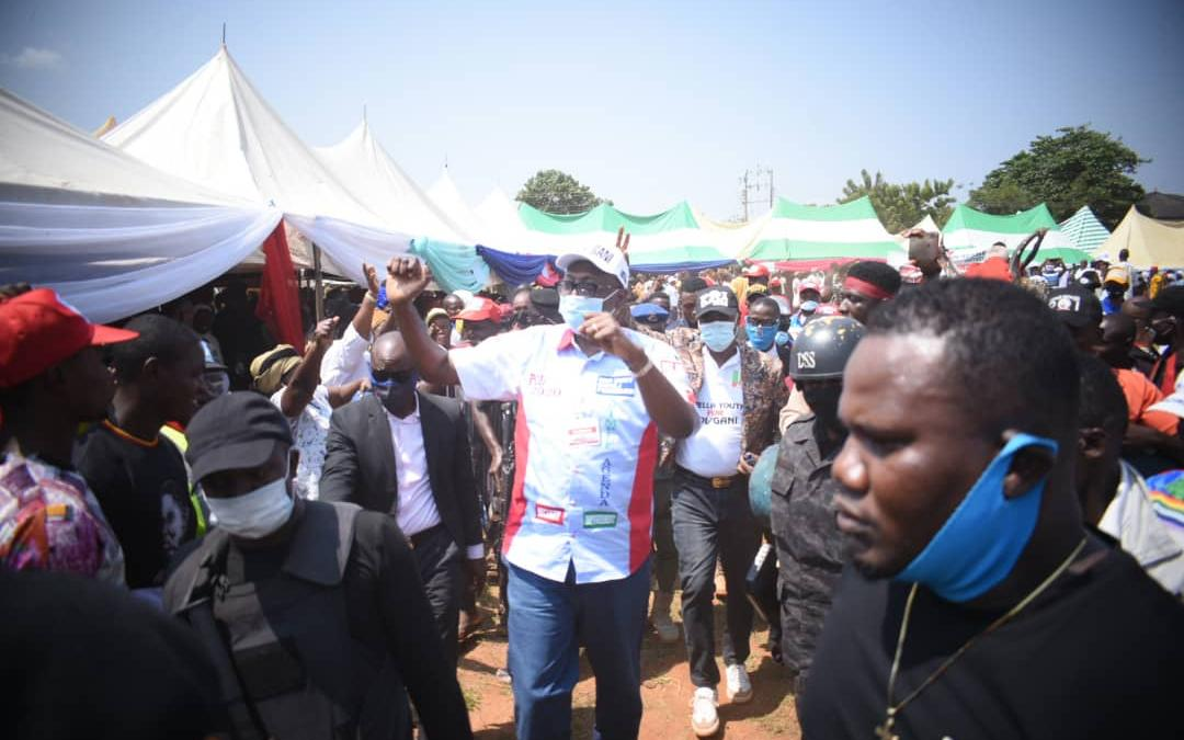 Edo Insecurity: Ize-Iyamu promises swift action, adequate support for security agencies
