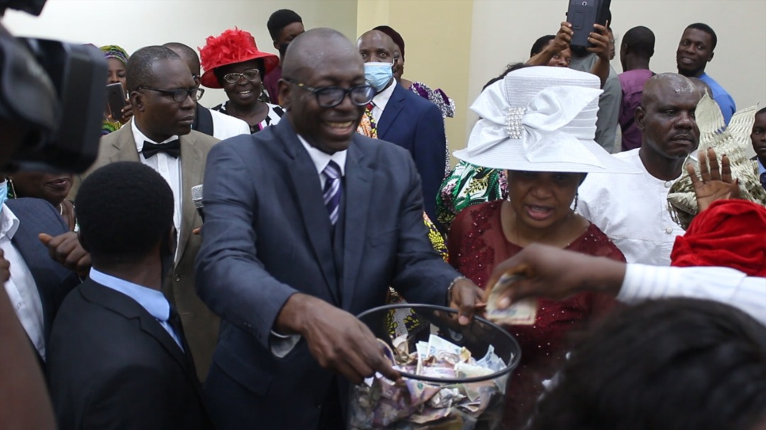 Pastor Ize-Iyamu celebrates successful election …..says defeat is in the mind